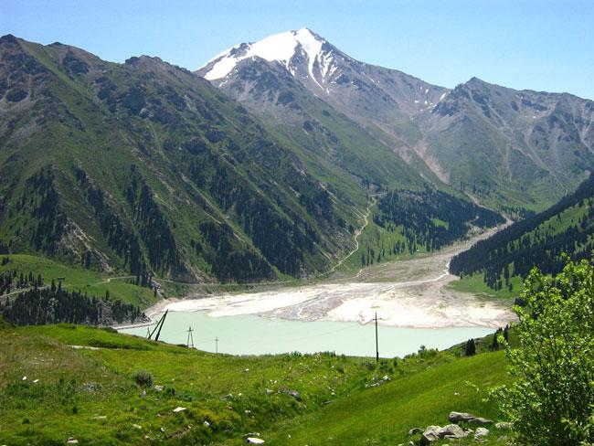 Almaty Lake in Summer