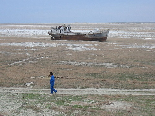 The old Man and The Aral Sea (Well... what is left of it))