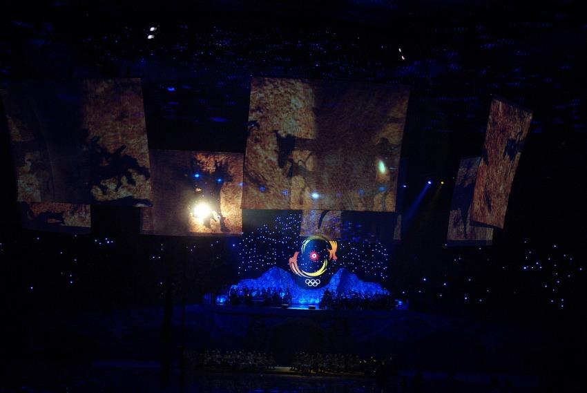 Asiad 2011 Opening in Astana Kazakhstan