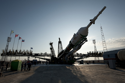 Soyuz ready to launch