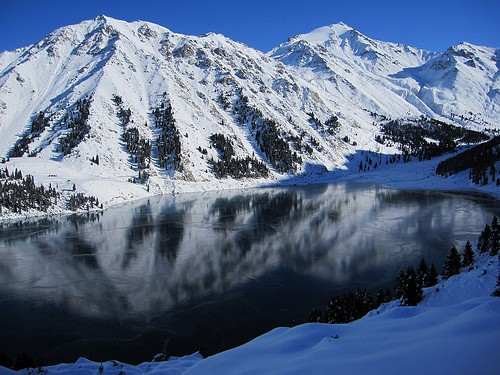 November in Almaty Lake