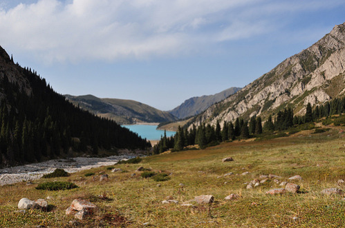 Big Almaty Lake in September