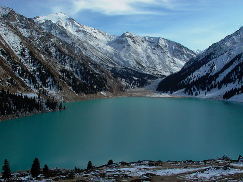 Big Almaty Lake in October