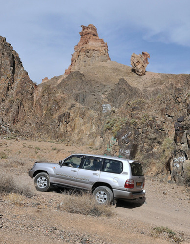 Charyn Canyon Car