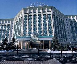 Hyatt Hotel in Almaty Kazakhstan