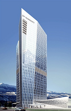 J W Marriott Hotel in Almaty Kazakhstan
