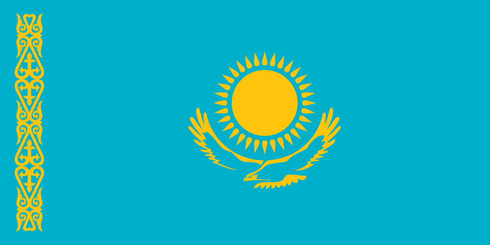Republic of Kazakhstan Flag