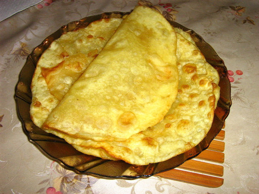 Kazakhstan Food - Shelpek