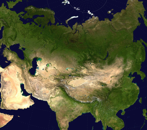 Map of the Great Eurasian Steppe