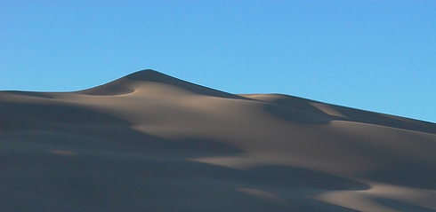 Singing Sands in Kazakhstan