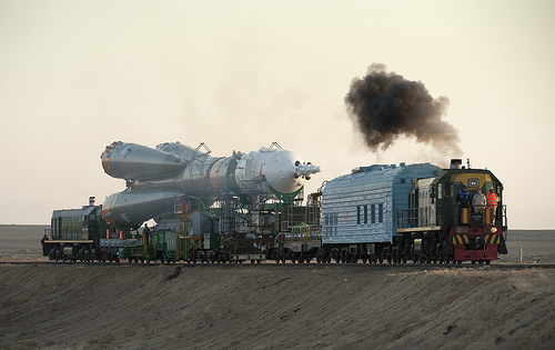 Soyuz Delivery to the Launch Pad