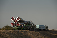 Soyuz Delivery to the Launch Pad I