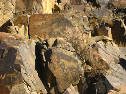 Kazakhstan Petroglyphs
