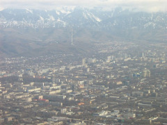 Almaty Aerial View