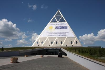 Palace of Peace and Accord in Astana OSCE 2010, <br>Credit to OSCE/Jonathan Perfect
