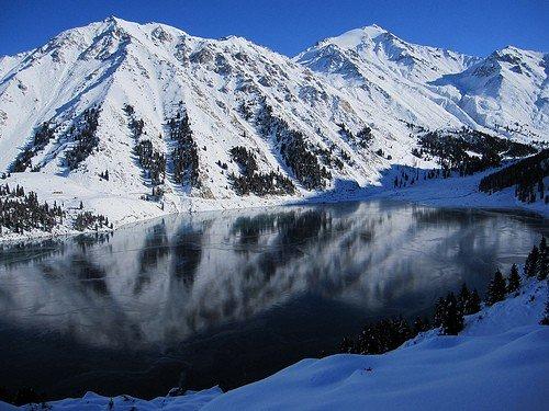 November in Almaty Lake