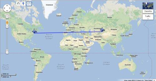 Flight Kazakhstan From New York US To Almaty