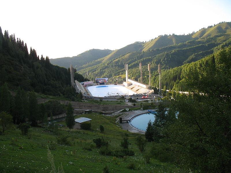 Medeo in Almaty